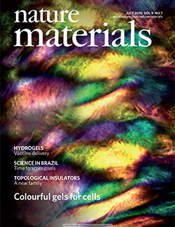 Natural Materials journal cover